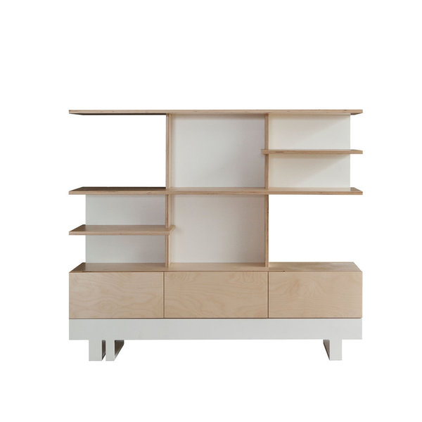 Kutikai Bookcase `Roof`