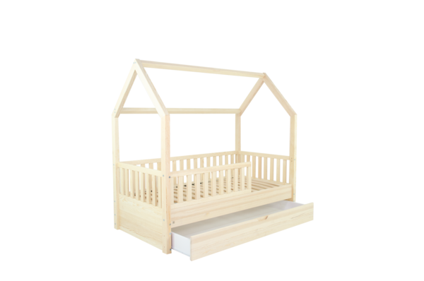 WOODIE House Bed 80 x 160