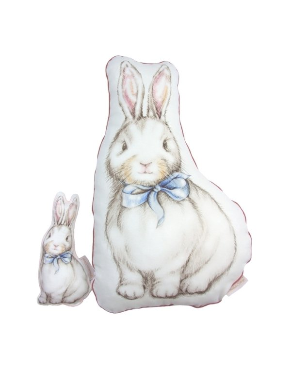Blanket Story Rabbit Pillow Alice's Magical World 40x60 cm