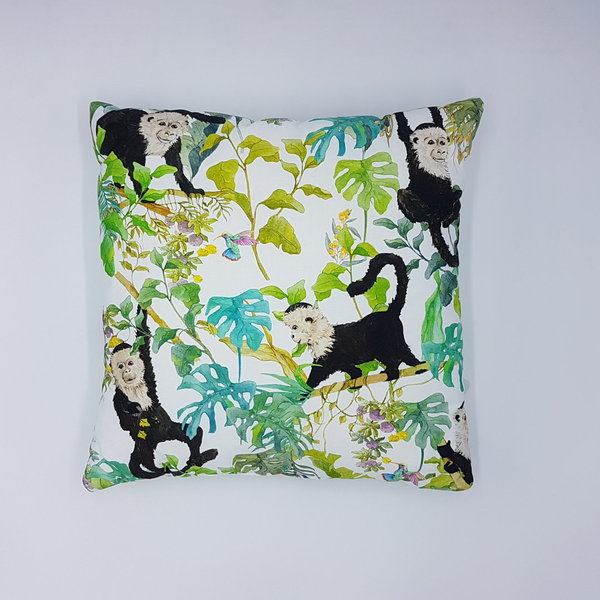 Monamoon Decorative Pillow with Filling Monkeys