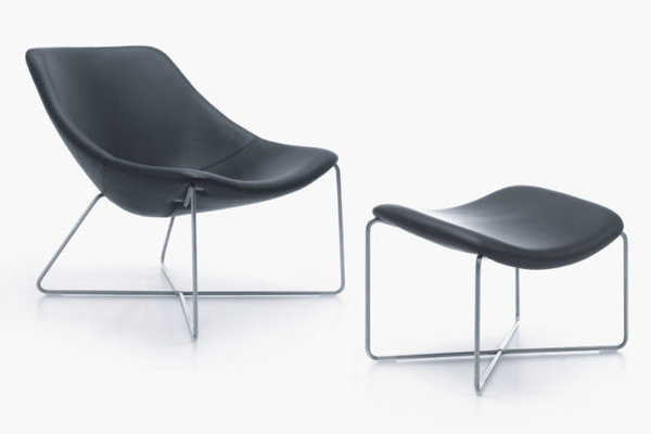 NOTI Mishell Armchair with Footstool (Variant 1)